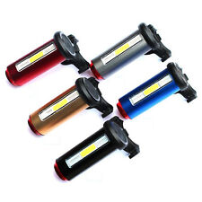 COB 7 Modes Bike Bicycle Cycling USB Rechargeable Front Rear Tail Light Lamp