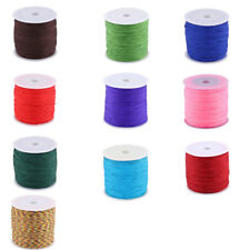 Home Nylon DIY Craft Braided Chinese Knot Bracelet Cord String Rope 110 Yards