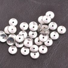 Wholesale 9MM Tibetan Silver Spacer Beads Jewelry Findings 3137
