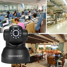 COOCHEER HD 720p Wireless/ Wired IP/ Network Pan/ Tilt Security Camera SI