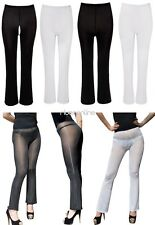 Womens Lingerie Stretchy Trousers Gym Yoga Long Pants Skinny Tights Underwear