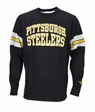 Reebok Mens NFL Pittsburgh Steelers Long Sleeve Classic Vintage Shirt