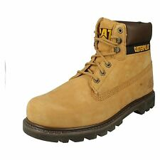 Mens Caterpillar Honey Leather Lace Up Ankle Boot Colorado