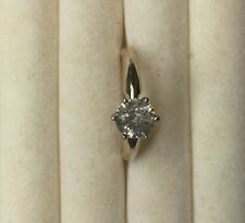 3/4 Ct. Diamond Solitaire Engagement Ring in 14K Gold