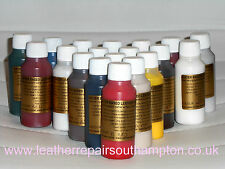 Leather Paint ALL IN ONE Repair & Recolour. Dye Pigment colour