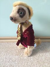 Compare the Market Meerkat - Alexander - Cuddly Toy Meerkat - Advertising