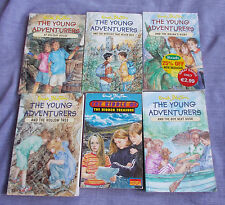 ENID BLYTON - Complete 'Young Adventurers' Series - 6 Mysteries - Used