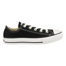 Converse All Star Ox Low Top Junior Kids Trainer Black