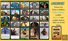 MTG Amonkhet AKH - Choose your Emblem or Token Singles & Playsets (x 4 cards)