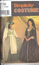7756 UNCUT Simplicity Vintage Sewing Pattern Halloween Costume Renaissance PLAY