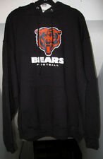 CHICAGO BEARS NFL TEAM APPAREL PULLOVER NAVY BLUE HOODIE WITH HANDPOUCH NWT
