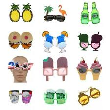 Novelty Sunglasses Glasses Hawaiian Tropical Fancy Dress Party Costume