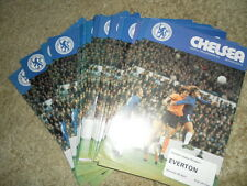 CHELSEA HOME PROGRAMMES FROM 73/4 AND 1974/5 SEASON - CHOOSE FROM LIST