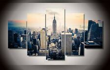 Framed Home Decor Canvas Print Painting Wall Art Modern New York City NY Poster