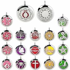 316L Stainless Steel Aromatherapy Pendant  ESSENTIALOIL Diffuser LOCKET Necklace