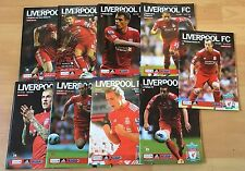 Liverpool FC Home Programmes  2011/2012 - Select from list - Brilliant Condition