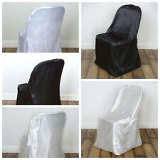 20 pcs Satin Folding CHAIR COVERS Wedding Catering Party SALE - FREE SHIPPING