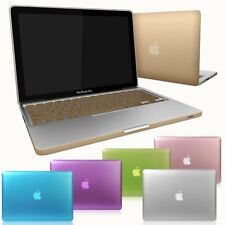 Metallic Paint Case for Macbook Pro 13/15 Retina Air 13/11 Inch +Keyboard Cover