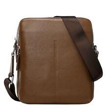 New Men's Genuine Leather Handbag Briefcase Laptop Shoulder Bag Messenger Bags