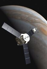 Space Probe Over The Planet Jupiter - Space Poster - Space Photo - Space Print