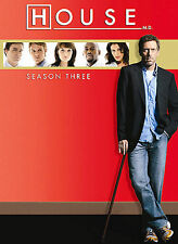 House - Season Three (DVD, 2007, 5-Disc Set)---NEW, FACTORY SEALED!!
