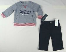 Tommy Hilfiger Baby Boys set, ' Pull Over with Pants Set size 6/9 months