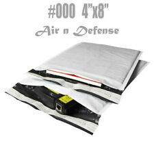 #000 4x8 Poly Bubble Mailers Padded Envelopes Bags Self Seal AirnDefense