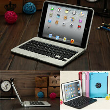 For iPad Mini 1 2 3 4 Foldable Wireless Bluetooth Keyboard Flip Stand Case Cover