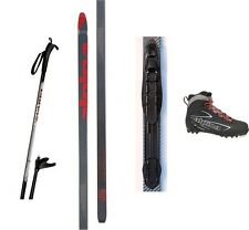 NEW ALPINA ENERGY XC CROSS COUNTRY NNN SKIS/BINDINGS/BOOTS/POLES PACKAGE - 195cm