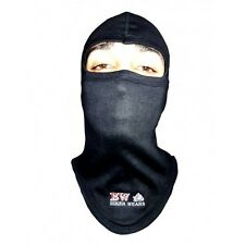 BALACLAVA COTTON MOTORBIKE MOTORCYCLE CYCLE NECK WARMER ONE HOLE BLACK