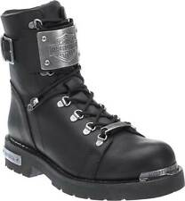 D96125M Harley-Davidson® Men's Sewell Black Leather Motorcycle Boots