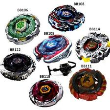 4D Rapidity Metal Beyblade Fusion Fight Master with Launcher Kids Outdoor Toys