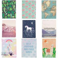 Sass & Belle Notebook Note Book Pad Plain Journal Jotter Diary Sketch Home Gift