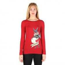 Love Moschino Clothing Women T-shirts Red 74784 Outlet BDX