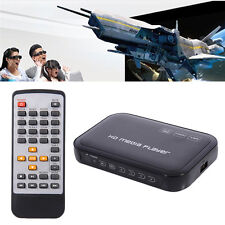 Full HD 1080P HDMI TV Media Player HDD MKV SD USB MP4 RM RMVB MPEG AVI