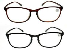 Retro Bendable TR90 Material Fashion 2017 Reading Glasses Black or Brown TN31