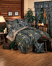 MOSSY OAK CAMO SHEETS SET- QUEEN or KING- BEDDING