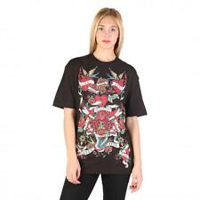Love Moschino Clothing Women T-shirts Black 74778 Outlet BDX
