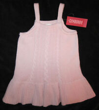 Gymboree NWT Tres Fabulous Pink Cable Sweater Jumper Dress 2 2T $37