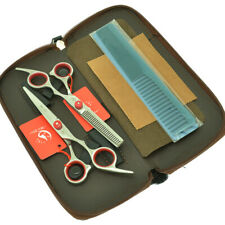 6.0inch Barber Hair Scissors Set Hairdressing Cutting Scissors Thinning Shears