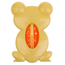 Baby Safety Bath Thermometer Pink Yellow Green Frog Waterproof Tub Thermometer