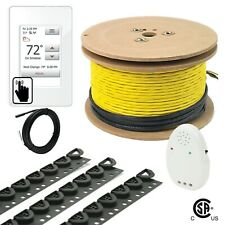 120V UDG4 Electrical Radiant Warming Floor Heating Cable System Kits