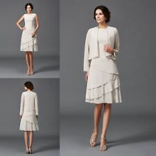 Wedding Mother Of Bride Dress Suit Plus Size 14 16 18 20++ Formal Outfit 2 Piece
