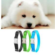Pet Dog Collar Training Puppy with Metal Buckle Safety Reflective Nylon Collar