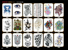Tattoos Transfer Tattoo Stickers Black Totem Waterproof Tatto Hot Fake Temporary