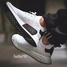 ADIDAS NMD R2 PRIMEKNIT WHITE BLACK *SHIP NOW* Sz 8-12 BOOST ULTRA BY3015 PORTER