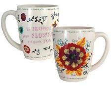 Haight-Ashbury Collection Sentiment Verse 12 oz Coffee Mug Assortments Boho Chic