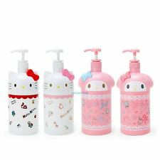 JAPAN SANRIO HELLO KITTY MY MELODY SOAP/ LOTION DISPENSER BOTTLE