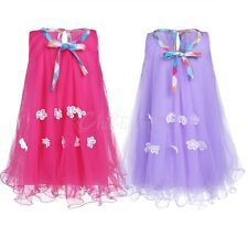 Baby Flower Girls Kids Tutu Princess Dress Wedding Pageant Party Tulle Holiday