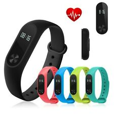 Smart Watch Mi 2 Wristband Strap Heart Rate Monitor Date Counter Touch